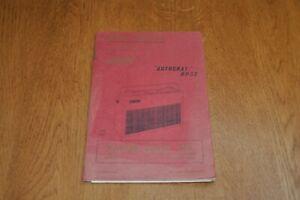Hacker Autocrat RP33 Portable Transistor Radio Workshop Service Manual