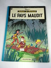 Johan Et Pirlouit La Pays Maudit French Language Graphic Novel  1978