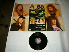 NUCLEAR ASSAULT --- rare original 1988 FIGHT.. 12'', in giant POSTER-COVER!!!!!!