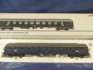 MÄRKLIN Spur 1 Nr. 58013 Schnellzugwagen 1. Kl. der DB mit Innenbeleuchtung, OVP