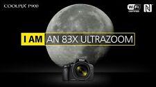 *NIKON COOLPIX P900 Digital Camera 16MP 83x Optical Zoom* uk stock *