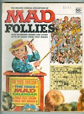 Mad Follies #2 G 1965 Still has calendar and pages