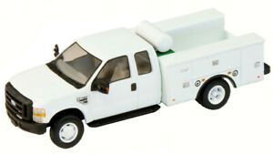 HO RPS River Point Station Ford F-450 Super Cab Fleet Service Truck - White 1/87