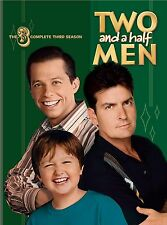 TWO AND A HALF MEN (COMPLETE SEASON 3 - DVD SET SEALED + FREE POST)