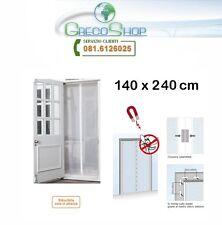 Zanzariera/Tenda con chiusura automatica a calamita/magnetica 140x240cm Premium