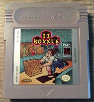 NINTENDO GAMEBOY * BOXXLE II 2 * TESTED + PLASTIC CASE