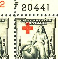 """EFO 702 DRAMATIC SHIFT OF RED CROSS - INTO """"PO"""" IN """"POSTAGE"""" A  BEAUTY PLATE BLK"""