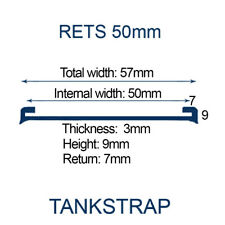 Rets50mm Tank Strap 50mm - EPDM UV Stable Extruded Rubber