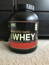 Optimum Nutrition Gold Standard 100% Whey Protein, Double Rich Chocolate, 5 lbs