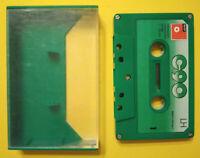 MC Musicassetta BASF LH C90 c 90 vintage compact audio cassette USATA no agfa