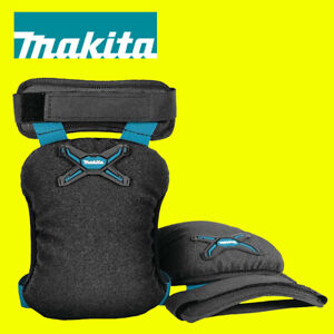 MAKITA E-05642 Light Duty Knee Pads 3D Mesh Lining Black/Blue