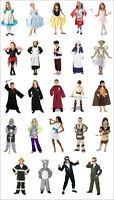 KIDS FANCY DRESS UP COSTUMES CLOWN-PRISONER-INDIAN-ANNA-ALICE-BRIDE-ARMY 3-8 y