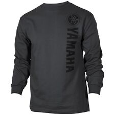 Yamaha Vertical L/S T-Shirt in Charcoal - Size XX-Large - Brand New