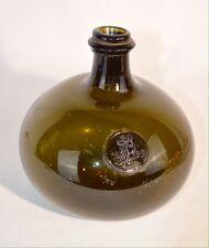 Old Kings Head Tavern 1699 Seal Demijohn Onion Bottle