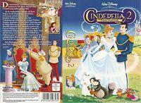 (VHS) Cinderella 2 - Träume werden wahr - Walt Disney (2002)