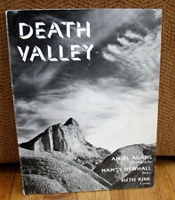 SIGNED Ansel Adams Death Valley PB Nancy Newhall Ruth Kirk Photographs