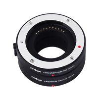Automatic Macro Extension Tube 10mm + 16mm for Olympus Panasonic Micro 4/3 M4/3