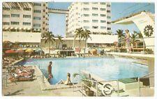 Miami Beach FL Sherry Frontenac Hotel 65th St Vintage Postcard