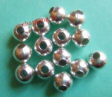 25pz  perline spacer separatori  10mm colore argento