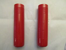 Vintage Antique Bicycle Implement Handle Bar Grips 7/8 red bin w