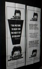 "Original DOG DAY AFTERNOON 2 Rare Door Panels AL PACINO 20"" X 60"""