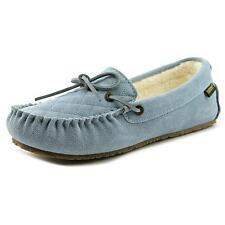 Old Friend Molly Women US 7 W Blue Moc Slipper