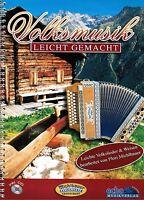 Steirische Harmonika Noten : Volksmusik leicht gemacht m CD  GRIFFSCHRIFT leicht