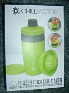 SALE!!!!! CHILL FACTOR FROZEN COCKTAIL DRINK MAKER COLD DRINKS in LESS THAN MIN