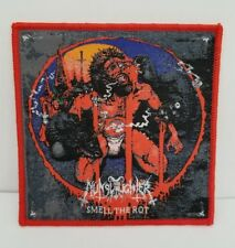Nunslaughter smell the rot  WOVEN PATCH