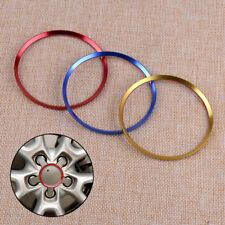 4pcs Emblem Ring Badge Hub Wheel Rim Center Cap 70mm For Audi A3 A6 A6L Q3 Q5 Q7