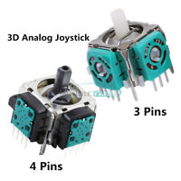 Replacement 3D Controller Analog Sensor Axis 3 Pins/4Pins Joystick for Sony PS3