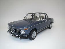 """AutoArt  BMW  2002  """"Baur-Cabriolet""""  (blau-met.)  1:18  Ohne Vp.!"""