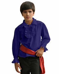 Kids Captain Kennit Shirt , High quality finest fabric, handmade one by one!!
