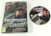 Jeu PC VF  Fret Ferroviaire Simulator  Envoi rapide et suivi