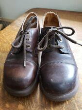Dr. Doc Martens 8309 Vtg Air Wair Cap Toe Chunky Oxfords 2R-8 UK 6, Women's US 8