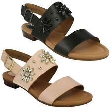 Sandali e scarpe Clarks per il mare da donna 100% pelle