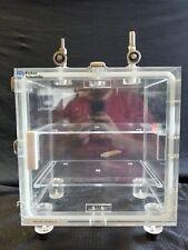Fisher Scientific Vacuum Cabinet Desiccator Dry Box Valves Gauge 9 X 12 X 18 B