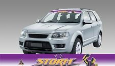62597 MELBOURNE STORM COLOUR VISOR BLOCK OUT DECAL NRL CAR STICKER ITAG