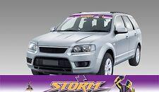 62597 Melbourne Storm Colour Visor Block out Decal NRL Car Sticker iTag