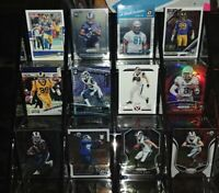 Rams 12 card lot RC Prizm Optic #d Aaron Donald Cooper Kupp Malcolm Brown