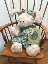 Boyds Bears Pig Family Vintage Gently Used Adorable With Outfits