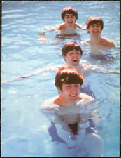 THE BEATLES POSTER PAGE . 1964 MIAMI SWIMMING POOL . 28D