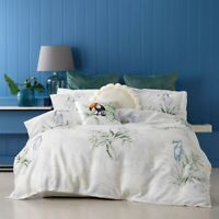 Bianca Toucan Quilt Cover Set Green