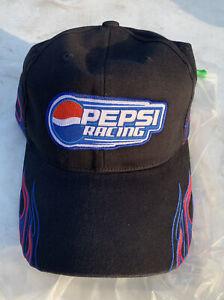 Pepsi Racing Strapback Jeff GordonHat 2008 Hendrick Motorsports Black Cap
