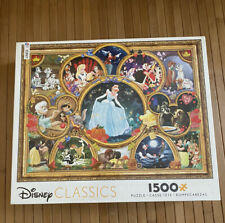 Disney Classic Collage 1500 Piece Jigsaw Puzzle by Ceaco
