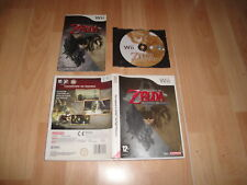 THE LEGEND OF ZELDA TWILIGHT PRINCESS RVL-RZDP-ESP PARA LA NINTENDO WII COMPLETO