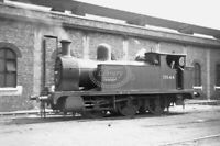 PHOTO BR British Railways Steam Locomotive Class LYR24 51544 at Bank Hall 1957