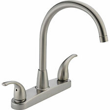 Peerless P299568LF-SS Two Handle Kitchen Faucet - Stainless Steel