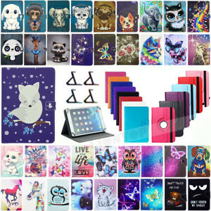 """For LASER 10"""" inch 1090IPS MID-1087 Tablet Universal Leather Stand Case Cover"""