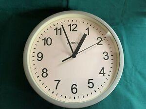 Jones Horloges ® Cocktail Horloge murale-couleur acrylique cas avec un facile à lire